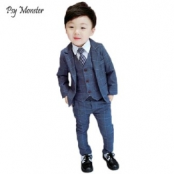 Костюмы LUOBOBEIBEI F125 Baby Kids Boys Suits For Birthday Party Weddings Formal Suit [32869355833]