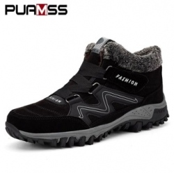 Теплые сапоги PUAMSS Men Winter Boots Sneakers [32920503474]