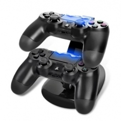 Зарядники vanpower Dual Charger Controller Stand for PS4 [4000010332466]